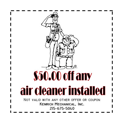 $50 off Air Cleanerr Installed